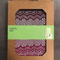 Urban Outfitters  Ombre Tights Diamond Stitch Dark Light Purple Photo