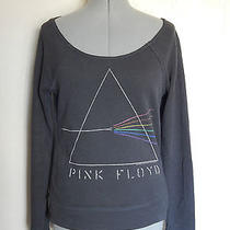 Urban Outfitters Pink Flyod Dark Side of the Moon Sweatshirt Junk Food M Medium Photo