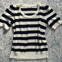 Urban Outfitters Pins and Needles Blue and White Stripe Sweater - Size L Photo