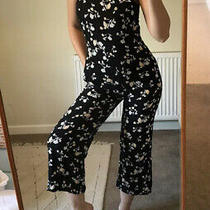 Urban Outfitters Pins and Needles Floral Jumpsuit Size M / Uk 10 Photo