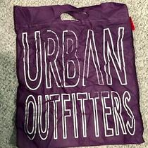 Urban Outfitters Purple White Shopping  Tote Bag 15