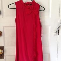 Urban Outfitters Red Dress Xs Photo