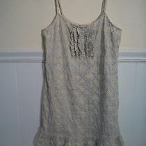 Urban Outfitters S Thistlepearl Chicken Work Dress Embroidered Ruffle Sundress Photo