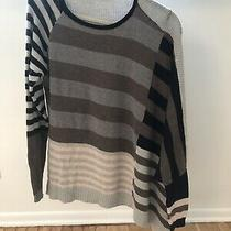 Urban Outfitters Silence  Noise Womens Asymmetrical Striped Sweater Size Xs Photo