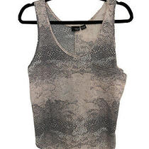 Urban Outfitters Sparkle & Fade Pink Snake Print Vest Tshirt Size L 12 Photo