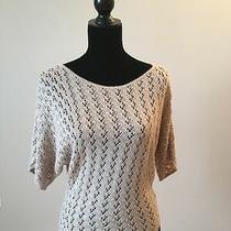 Urban Outfitters Staring at Stars Beige Dolman Sleeve Sweater Size Medium Photo