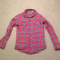 Urban Outfitters Sv Salt Valley Xs Western Style Plaid Dress Shirt Nice  Photo