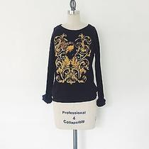 Urban Outfitters Truly Madly Deeply Cotton Printed Cotton Sweater - S Photo