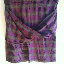 Urban Outfitters Uo Threads 4 Thought Gray & Purple Tie Dye Mini Skirt Small Photo