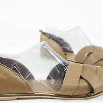 Urban Outfitters Womens Bdg Strappy Leather Sandals Tan 10 New Photo