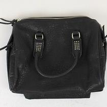 Urban Outfitters Womens Gold Stud Bowler Purse Black Osfm New Photo