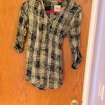 Urban Outfitters Womens Plaid Button Down Shirt/ Top Urban Outfitters Size Small Photo