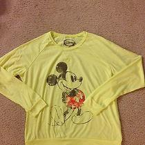 Urban Outfitters Yellow Mickey Mouse Top Size L Photo