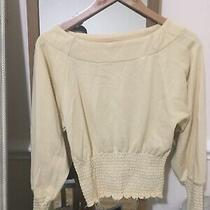 Urban Outfitters Yellow Puff Sleeve Top Photo