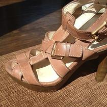 Us 9.5 Coach Stefanie Women's Platform Heel Strappy Sandal Photo
