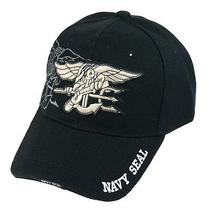 Us Army Leisure Style Canvas Baseball Hat Black Navy Seals Military Cap Commando Photo