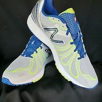 Usa Made-New Balance 890 V3 Mens Running Shoes Size Us14d Grey/blue/lime Yellow Photo