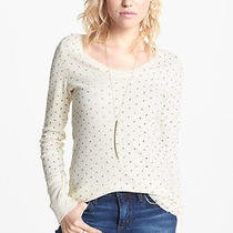 Usa New Free People We the Free Dalmatian Thermal Tee Nwt 58 Xsmall Soooo Cute Photo
