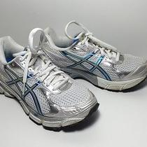 Used Asic Gel 1160 Women's Blue Silver White Running Shoes - Size 5 Photo