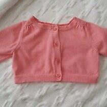 Used Baby Gap Pumpkin Orange Sweater. Baby Girl Size 0-3 Months. Plus Extras... Photo