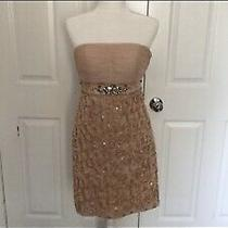 Used Blush/pink Sue Wong Nocturne Dress Size 6 Excellent Condition Photo