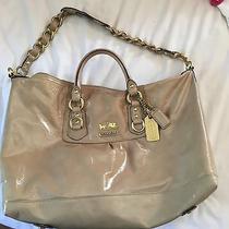 Used Coach Satchel Handbag Photo