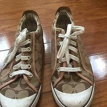 Used Coach Sneakers 8.5 Photo