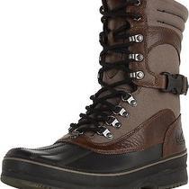 Used Excellent Men's Sorel Kitchener Conquest Winter Boots Major / Black 10.5 Photo