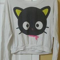 Used Forever 21 X Sanrio Chococat Long Sleeved Crop Top Photo