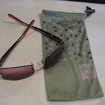 Used Fossil Sunglasses With Fabric Sac Photo