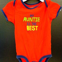 Used (Good) Boy's Carters Red 12m Bodysuit