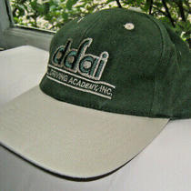 Used Hat Diesel Driving Academy Inc Dfai One Size Fits All Cotton Green Tan Photo