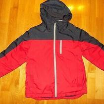 Used Kids Boys Gap Spring Jacket Fleece Sz M 8 Photo