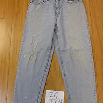 Used Levi 560 Comfort Fit Grunge Jean Tag 34x30 Meas 33x29  Zip12754 Photo