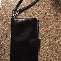 Used Like New Without Tags Black Hobo Wristlet/wallet Photo