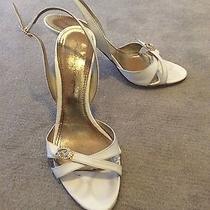 Used Mario Bologna White Wedding Shoes Size 39 Eu Photo