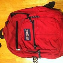 Used Red Jansport Photo