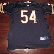 Used Reebok Brian Urlacher Chicago Bears Nfl Swag Jersey Youth Xl(18-20) Mens S Photo