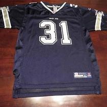 Used Reebok Roy Williams Dallas Cowboys Nfl Football Jersey Sz Youth Xl Mens S Photo