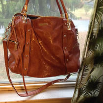Used Tan Leather Handbag Photo