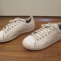 Used Worn Size 10 Adidas Stan Smith 2 Shoes White   Photo