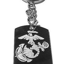 Usmc United States Military Proud Marine Sister - Metal Ring Key Chain Keychain Photo