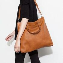 Uterque( Zara Group Luxury Division) Bucket Bag With Plaited  Handle Photo