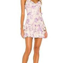 V. Chapman Camilla Dress in Purple Country Floral Size 4 Originally 375 Photo