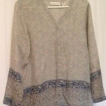 Valarie Stevens Pure Silk. Blouse Size Small Photo