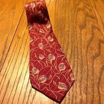 Valentino 100% Pure Silk Necktie Made in Italy Photo