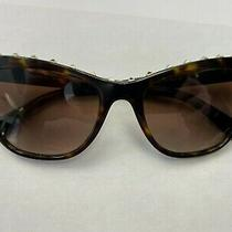 Valentino 4022 Sunglasses 5002/13 Havana 100% Authentic Photo