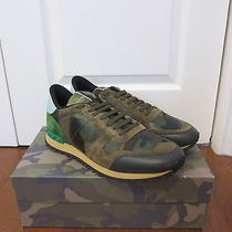 Valentino 795 Rockstud Camo-Print Sneakers in Size 46eur--13us. Nib. Photo