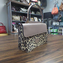 Valentino Beige Patent Leather Leather and Leopard Photo