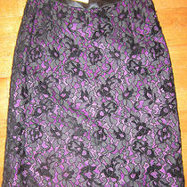 Valentino  Black Lace Skirt  Photo